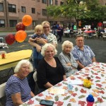 Four generations shared the day